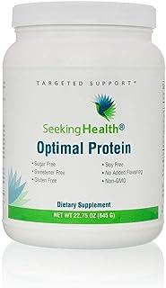 Optimal Protein Powder | From Non-GMO Pea and Rice Protein | Sugar-Free, Gluten-Free, Soy-Free | Vegan Protein Powder | 30...
