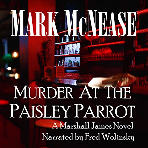 Murder at the Paisley Parrot audiobook cover art