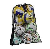 Heavy Duty Mesh Ball Bag, Drawst...