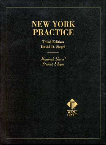 New York Practice (Student Edition) (Hornbook Series)