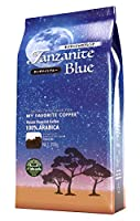 idecafe イデカフェ タンザナイトブルー キリマンジャロブレンド コーヒー豆 (350g(粉))