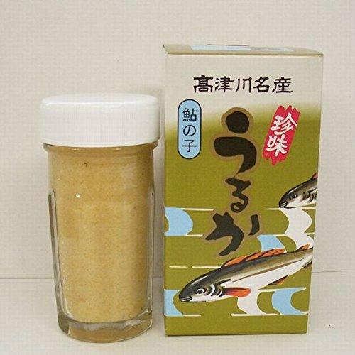 清流高津川の天然鮎使用「子うるか」60gx2本セット
