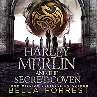 Harley Merlin and the Secret Coven                   By:                                                                                                                                 Bella Forrest                               Narrated by:                                                                                                                                 Amanda Ronconi                      Length: 12 hrs and 43 mins     159 ratings     Overall 4.6