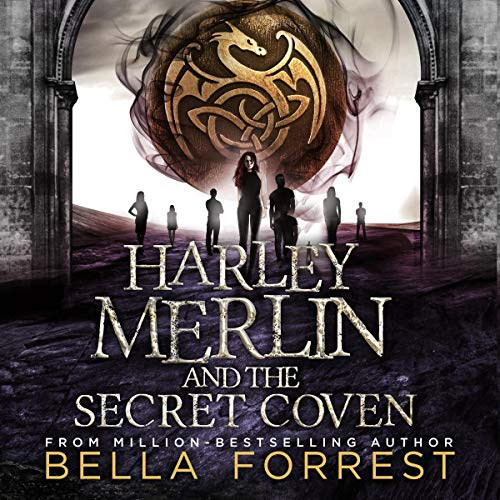 Couverture de Harley Merlin and the Secret Coven