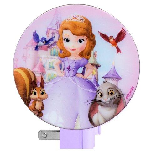 Disney Princess Sofia the First Night Light (Princess Sofia and Friends)