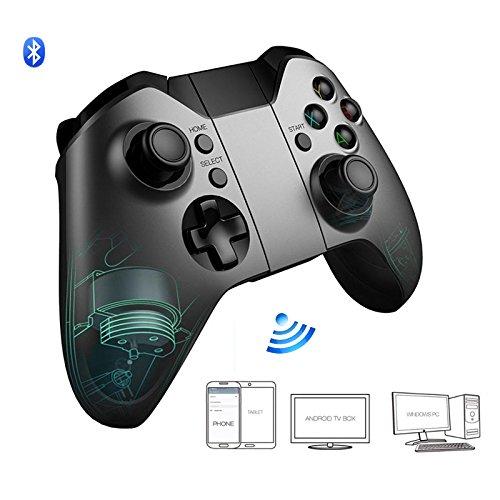 GAMEGUGU Gamepad,Spiel-Controller,Wireless Bluetooth Gamepad Dark Fighter Spiel Controller Dual Motor Joystick Für Ios Xiaomi Pc TV, Schwarz