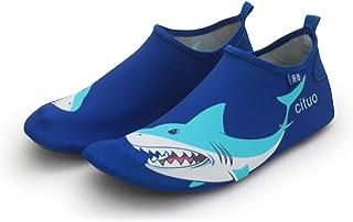 احذية السباحة والغوص بتصميم كرتوني، مريحة، جيدة التهوية، للفتيات والفتيان، احذية واقية، سريعة الجفاف، تصلح للغوص والشاطئ