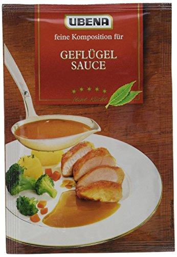 Ubena Geflügel Sauce, 6er Pack (6 x 25 g)
