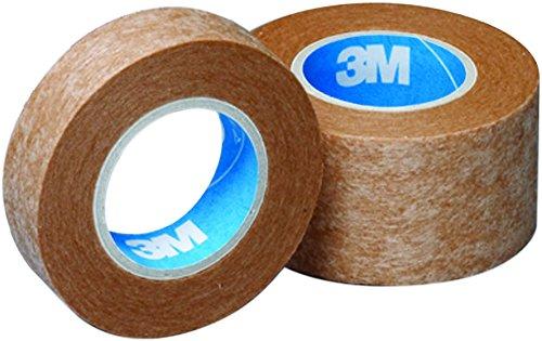 3Mマイクロポアスキントーンサージカルテープ不織布ベージュ25mm幅x9.1m1巻入り1533EP-1