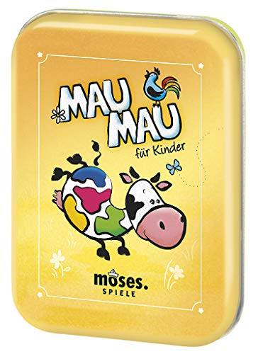 moses. 90321 Mau-Mau Kartenspiel | Spiele-Klassiker | Für Kinder ab 5 Jahren