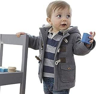 Baby Boy's Hooded Fleece Coat Winter Outwear