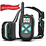 BESTHING Dog Training Collar with Remote Long 1450ft Range Dog Shock Collar, 100% Waterproof, 3 Training Modes- Beep Vibra Electric Shock 1-100 Levels for Large Dogs and Small Dogs