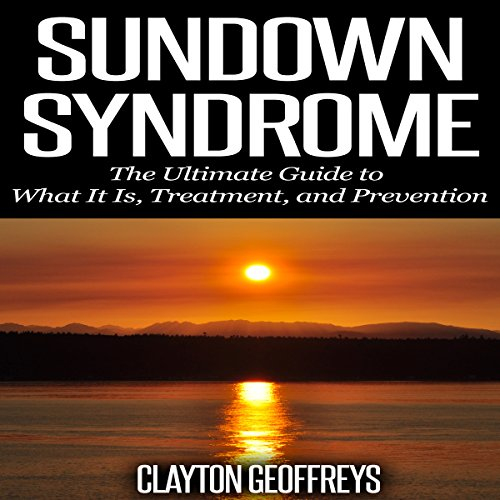 Sundown Syndrome audiobook cover art