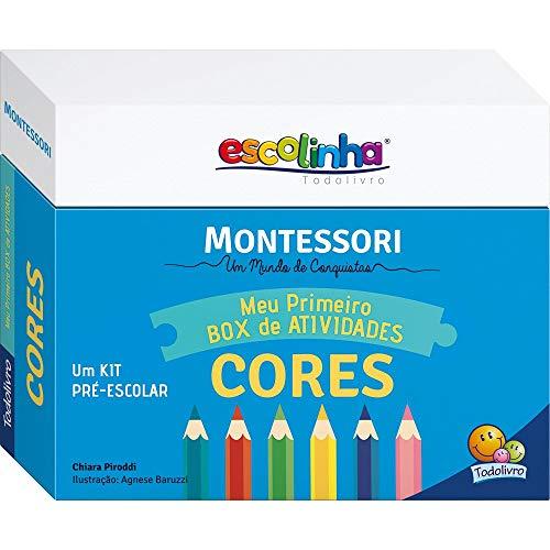 Escolinha Montessori - Meu Primeiro Box de Atividades... Cores