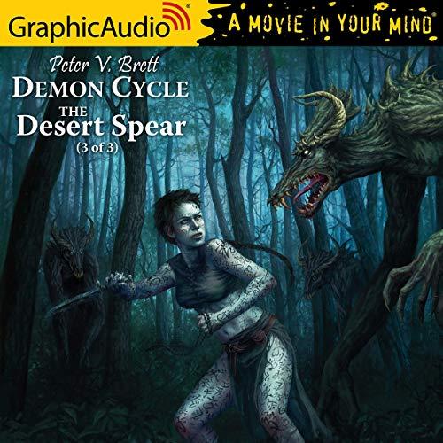 The Desert Spear, 3 of 3 cover art