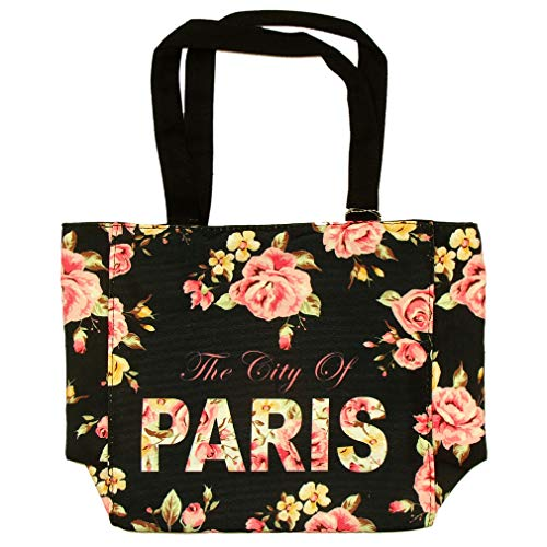 Petit Sac 'Paris Fleuri' Robin Ruth - Noir