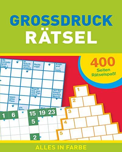Großdruck-Rätsel: 400 Seiten Rätselspaß