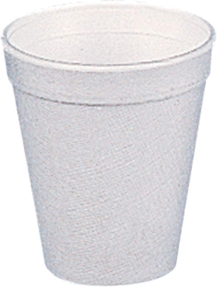 Dart Drink Foam Cups Eight Ounces White of 40 Car Bags 25 Per New Superior color