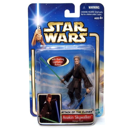 Hasbro Anakin Skywalker Hangar Duel Attack of The Clones Figur No.22 - Star Wars Saga Collection 2002-2004