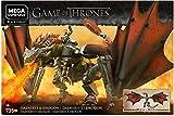 Mega Construx Game of Thrones Daenerys et Drogon, Jeu de Construction, 735 Pièces, 16 ans et plus, GKG97