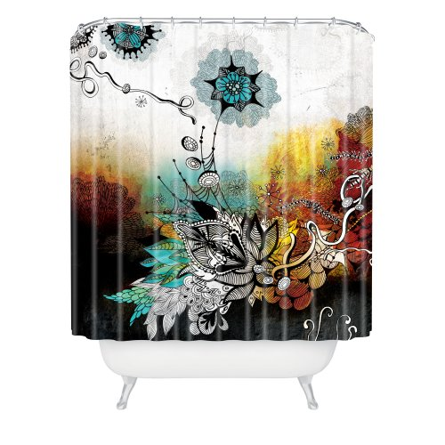 Deny Designs Iveta Abolina Frozen Dreams Duschvorhang, 175,3 x 182,9 cm