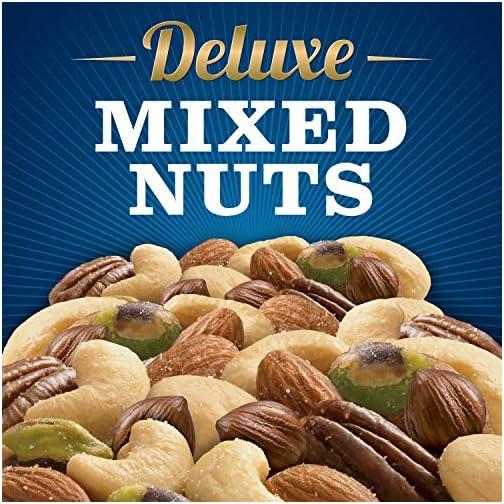 Planters Deluxe Pistachio Mix, 18.5 oz. Resealable Container | Pistachio Lover's Mix: Pistachios, Almonds & Cashews… 5