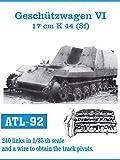 フリウルモデル 1/35 金属可動履帯 兵装運搬車両 グリレ17用 金属パーツ ATL-92