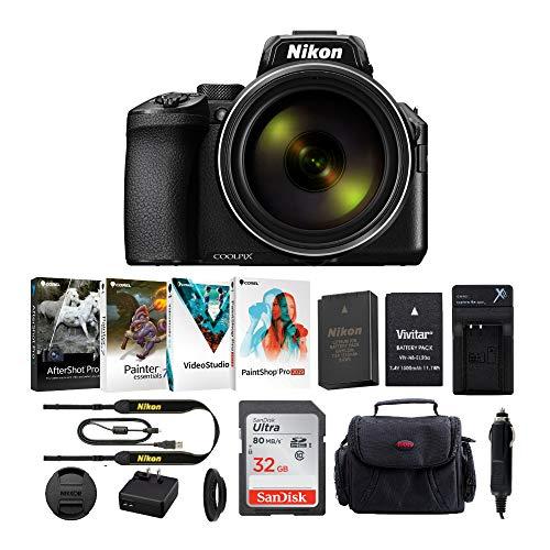 Nikon COOLPIX P950 Digital Camera (Black) with...