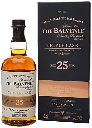 Balvenie 25 Year Old Triple Cask Single Malt Whisky