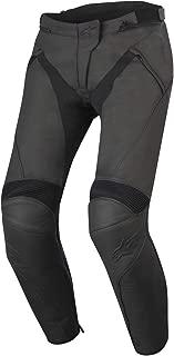Alpinestars Women's Stella Jagg Leather Pants (38) (BLACK/BLACK)