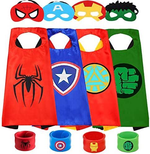 Superhero Cape And mask for Kids Superhero Toys for Boys Superhero Dress Up Superhero Costumes product image