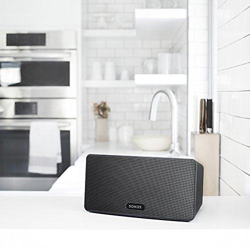 Sonos PLAY:3 I Vielseitiger Multiroom Smart Speaker für Wireless Music Streaming (schwarz) - 3