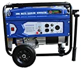 Green-Power America GPD5000W 5000W Gasoline Generator, Blue/Black