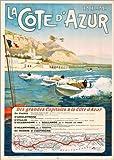 Poster 60 x 80 cm: Côte d'Azur von ARTOTHEK - hochwertiger