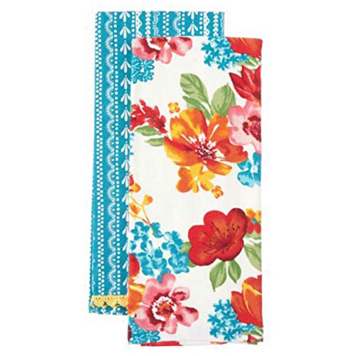 The Pioneer Woman Wildflower Whimsy Kitchen Towels, Set of 2