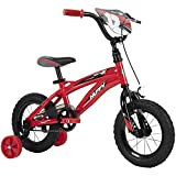 Huffy Kid Bike Moto X, Fast Assembly Quick Connect, 12', Gloss Red
