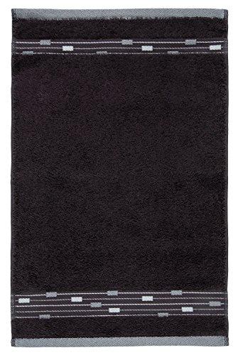 frottana Magic Gästetuch 30 x 50 cm aus 100% Baumwolle, graphite