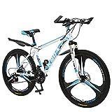 【Fast Shipment】 Hmazy 24-inch Mountain Bike, Folding Fariable Speed Bicycle Women Men Adult Student Ultra Light Portable Bike, All-Terrain City Road Smooth Bike MTB