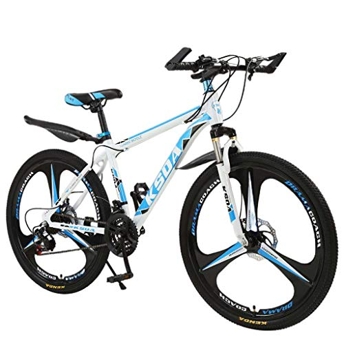 BRADEM 26 Inch 21-Speed Bicycle Lightweight Bike Junior Aluminum Full Mountain Bike Stone Mountain Bicycle for Men&Women
