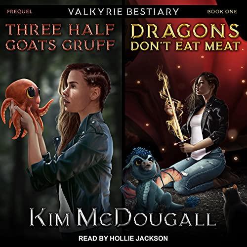 『Three Half Goats Gruff & Dragons Don't Eat Meat』のカバーアート