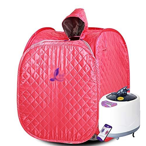Single Portable Sauna, Therapeutic Steam Personal Spa, Home Sauna Steamer Portable Steame Sauna Tent, Spa Home Salon Steamer (Color : A)