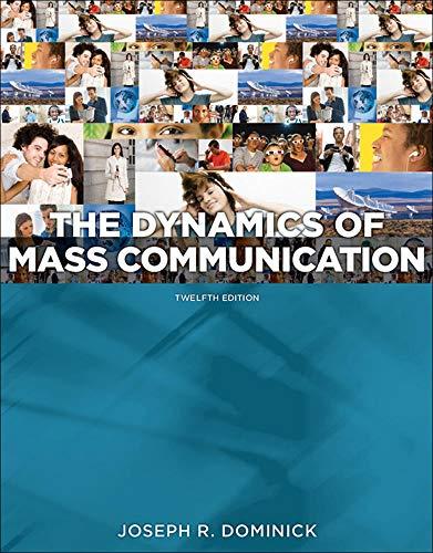 Dynamics of Mass Communication: Med…