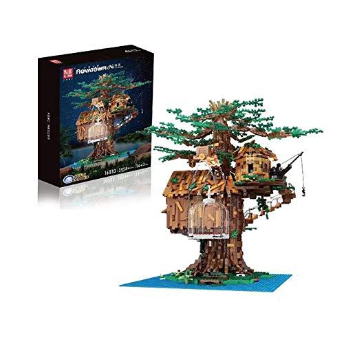 HLONGG Tree House Building Kit, Un Proyecto De Edificio para Enfocar Compartir Su Diversión Y Recuerdos De La Infancia, Nuevo Regalo De Cumpleaños De 2021,(3958 Pieces)
