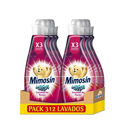 Mimosín Intense Suavizante Estallido De Pasión 52 Lavados - Pack de 6