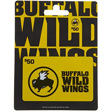 Buffalo Wild Wings Gift Card $50