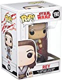 Star Wars - Figuara de Vinilo: Pop! Bobble E8 TLJ: Rey...