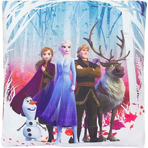 Frozen 2 - Die Eiskönigin Deko Kuschel Kinder Kissen Anna ELSA Olaf 35 x 35 cm
