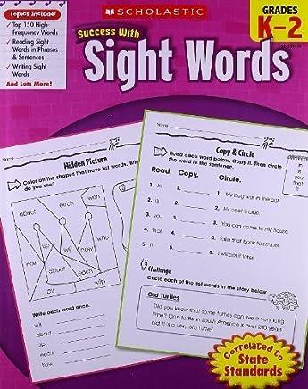 Scholastic Success with Sight Words by Karen Baicker(2010-03-01)