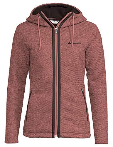VAUDE Damen Women's Skomer Hooded Jacket Jacke, Dusty Rose, 40