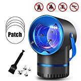 VIVIK Bug Zapper,Mosquito Killer,Mosquito Killer Lamp,Mosquito Trap,Mosquito Zapper,Gnat Trap,Insect Killer Indoor for Home,Bug Zapper with Light Trap Insect (7.7 in)